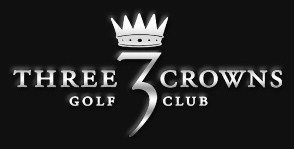three crowns golf logo
