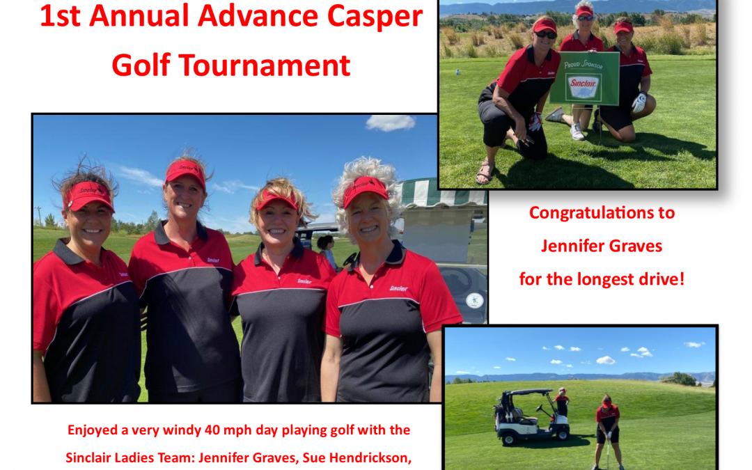 1st Annual Advance Casper Golf Tournament