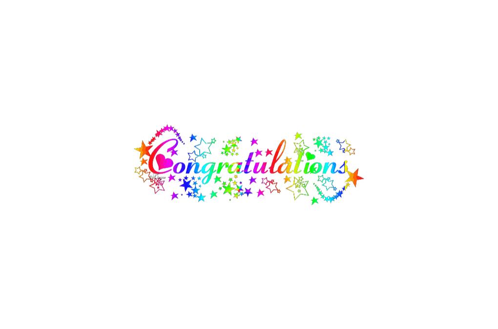 Congratulations Chrissy!