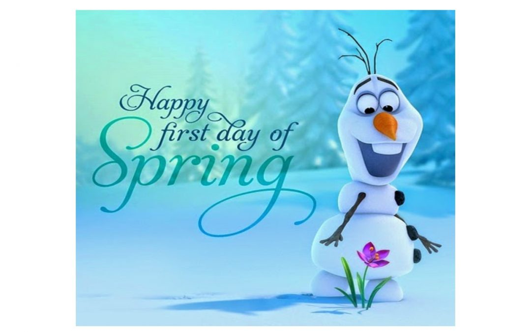 1st Day of Spring!!!