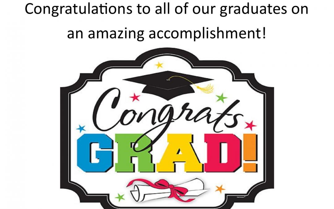 Way to go Graduates!