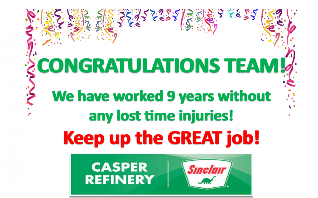 Congratulations to an amazing team!  Keep up the good work!