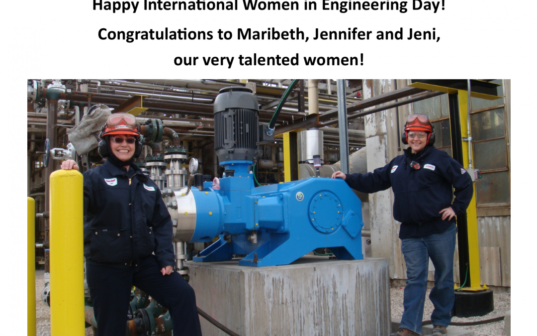 We are proud of our Women Engineers!