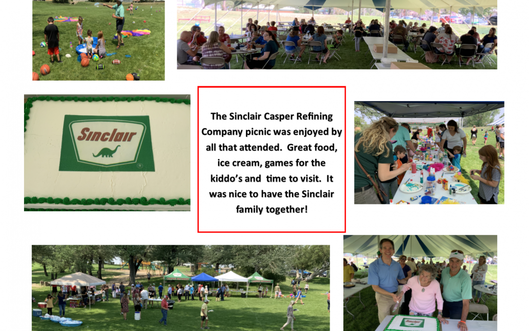 A beautiful day for our company picnic!